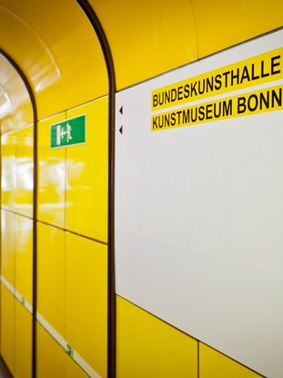 [Translate to Englisch:] Haltestelle Bonn Museumsmeile