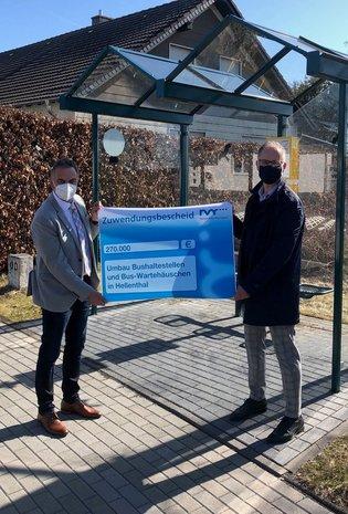 Bushaltestellen werden ausgebaut, Wartehäuschen wurden erneuert